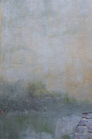 plaster mould: texture of old painted wall background