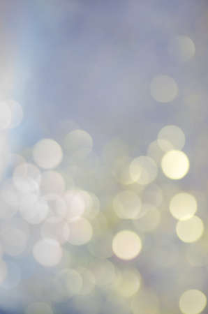 light color: Christmas background of bokeh lights