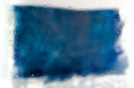 steamy: steamy frozen glass abstract background