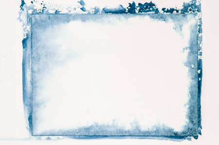 blue watercolor painting background texture