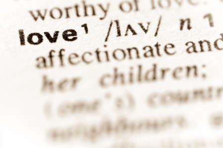 thesaurus: macro of word love definition in dictionary