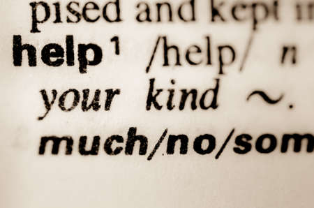 thesaurus: macro of word help definition in dictionary