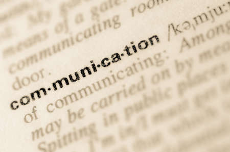 semantic: Definition of word communication in dictionary