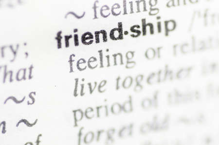 pronunciation: Definition of word friendship in dictionary
