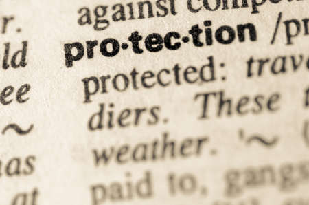 Definition of word protection in dictionary