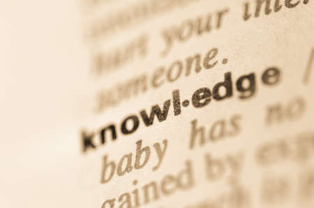 lexical: Definition of word knowledge in dictionary