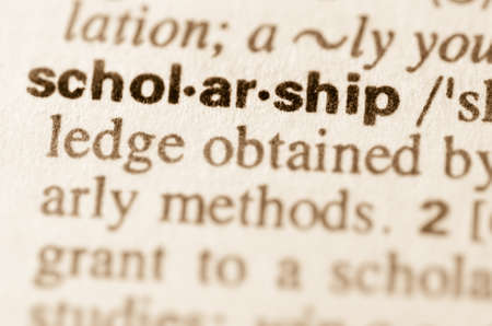 teching: Definition of word scholarschip in dictionary
