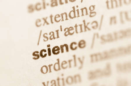Definition of word science in dictionary