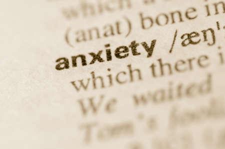 ansiedad: Definici�n de ansiedad palabra en el diccionario