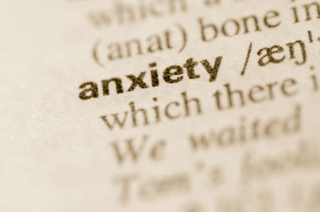 lexical: Definition of word anxiety  in dictionary