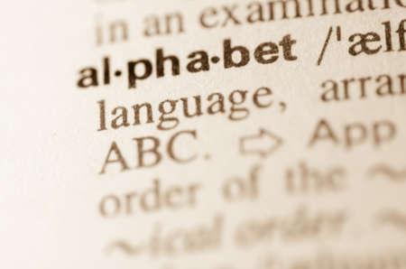 definicion: Definici�n de palabra alfabeto en el diccionario