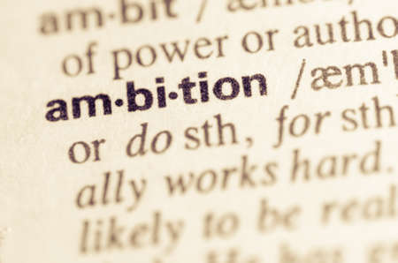 semantic: Definition of word ambition in dictionary