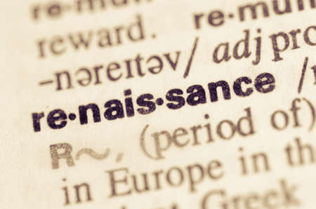 lexical: Definition of word renaissance in dictionary