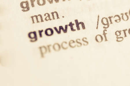 semantic: Definition of word growth  in dictionary