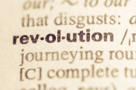 Definition of word revolution in dictionary