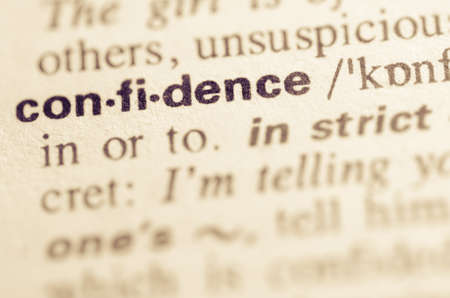pronunciation: Definition of word confidence in dictionary