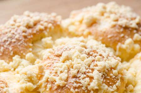 yeast: closeup to fresh yeast cake