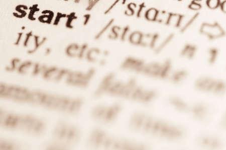 definicion: Definici�n de la palabra en el diccionario de empezar