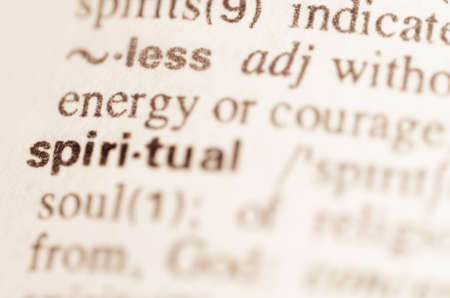 lexical: Definition of word spiritual  in dictionary