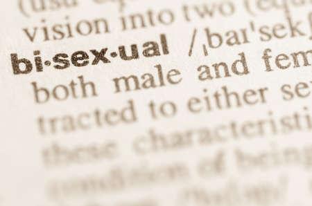 educacion sexual: Definici�n de palabra bisexual en el diccionario
