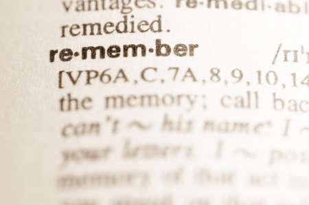 definicion: Definici�n de la palabra recordar en el diccionario