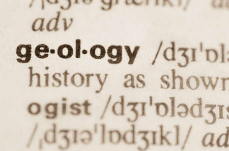 geology: Definition of word geology  in dictionary