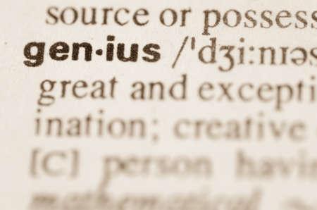 definicion: Definici�n de la palabra genio en el diccionario