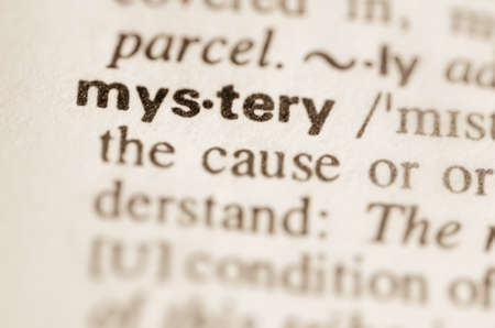 lexical: Definition of word mystery  in dictionary