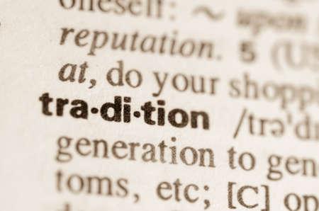 definicion: Definici�n de tradici�n palabra en el diccionario