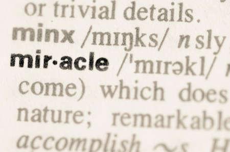 Prodigy: Definicja cudu słowo w słowniku Zdjęcie Seryjne