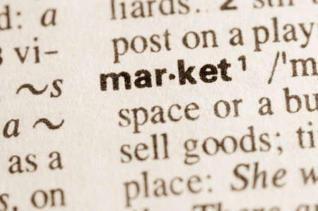 lexical: Definition of word market in dictionary