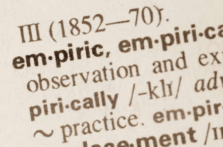 experiential: Definition of word empiric in dictionary