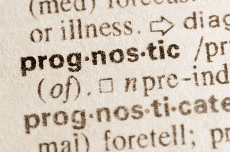prognostic: Definition of word prognostic  in dictionary