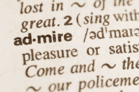admire: Definition of word admire in dictionary