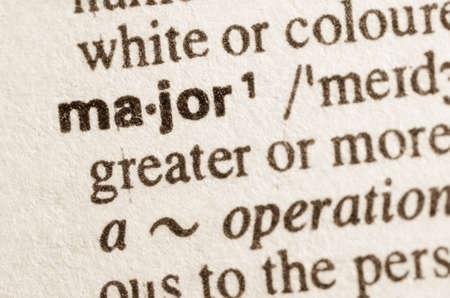 definicion: Definici�n de la palabra principal en el diccionario