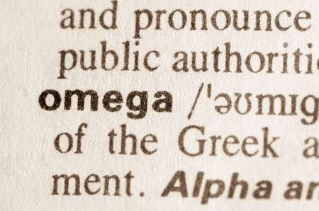definicion: Definici�n de la palabra en el diccionario de Omega