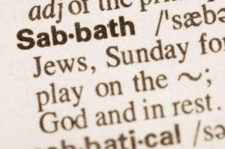 definicion: Definici�n de la palabra en el diccionario de Sabath