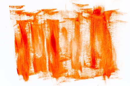 orange abstract painted background texture
