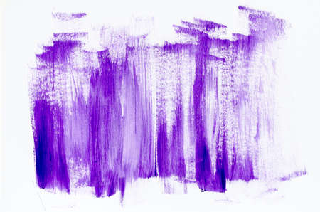 violet abstract painted background texture Stock Photo