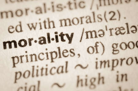Definition of word morality in dictionary