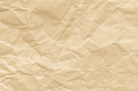 creased: closeup to creased brown paper texture background Stock Photo