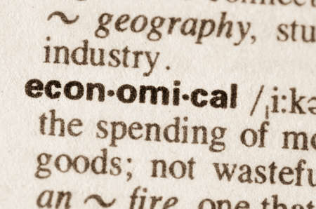 lexical: Definition of word economical  in dictionary