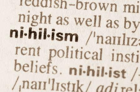 definicion: Definici�n de la palabra nihilismo en el diccionario