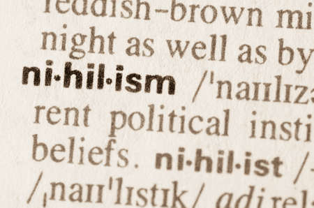 agnosticism: Definition of word nihilism in dictionary