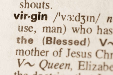 lexical: Definition of word virgin in dictionary