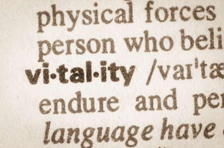 vitality: Definition of word vitality in dictionary