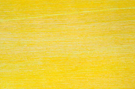 closeup to yellow painted wooden background texture Archivio Fotografico