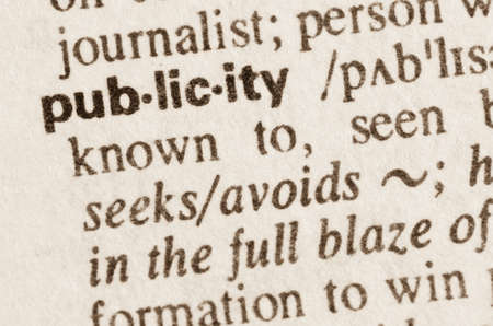 lexical: Definition of word publicity in dictionary