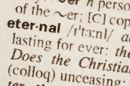 lexical: Definition of word eternal in dictionary