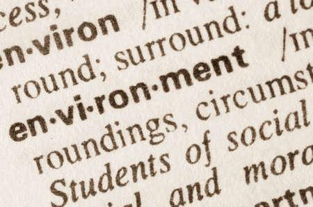 definicion: Definición de entorno de la palabra en el diccionario